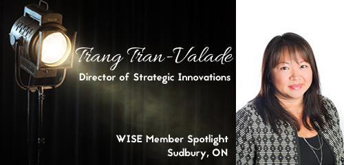 Member Spotlight - Mar2016 - Trang Tran-Valade